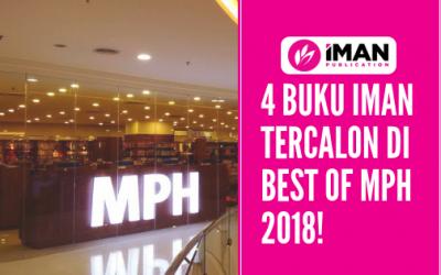 4 BUKU IMAN TERCALON DI MPH BEST OF 2018!